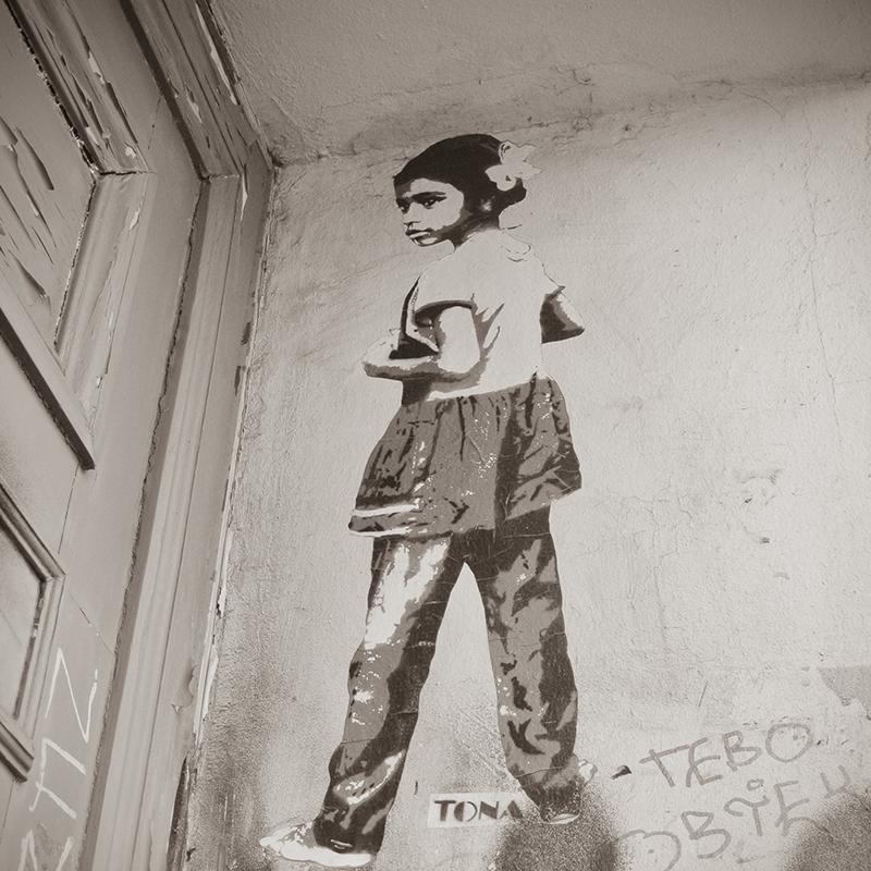 Daisy, street art, Tona, Berlin Kreuzberg